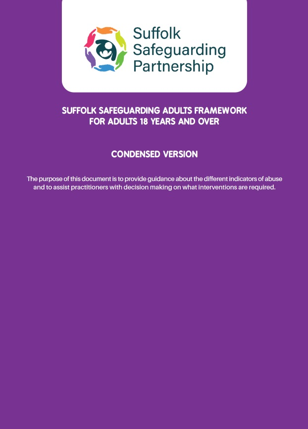 Suffolk Safeguarding Partnership Framework Mini Guide